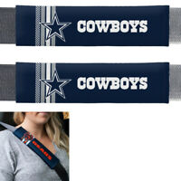 New NFL Dallas Cowboys Car Truck Suv Van Rally Seat Belt Pads Covers Set