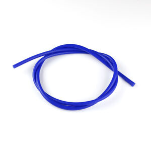 """Blue 1/4"""" inch ID 6mm Vacuum Silicone Hose Racing Turbo line Pipe 1 foot Tube"""
