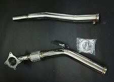 "3""  exhaust down pipe downpipe for VW Golf 5 V MK6  Audi TT A3 2.0TFSI K04 turbo"