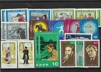 German Democratic Republic mint never hinged stamps Ref 13786