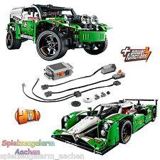 LEGO TECHNIC Set 42039 + 8293 Power Functions Langstrecken Rennwagen 24 Hours Ra