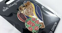 Disney WDI Pin Valentine's Day 2020 LE 250 Beauty and the Beast Bouquet of Roses