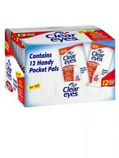 12 PACK OF CLEAR EYES DROPS REDNESS RELIEF 0.2 OZ.6 ML EXP. DATE: 2021