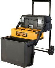 Tool Box Chest Cantilever Steel Storage Portable DEWALT Toolbox Rolling Black