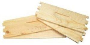 8 Frame Langstroth Super Box, Flat, Pine, Beehive, Beekeeping