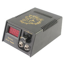 US SHIP Digital LCD Display Dual Power Supply For all Tattoo Machines with Cable