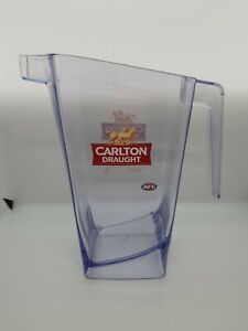 CARLTON DRAUGHT BEER JUG  COLLECTABLE PLASTIC PUB STYLE Official Beer of the AFL