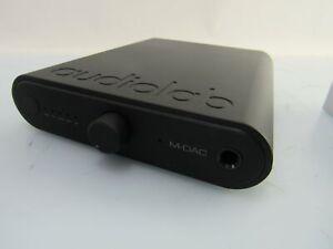 Audio Lab M-DAC Mini D/A Wandler Kopfhörerverstärker IFI-Netzteil - neuwertig