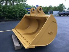 "New 72"" Caterpillar 325 Ditch Cleaning Bucket with Cb Linkage"