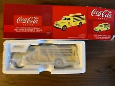 *NEW* FIRST GEAR 1:34 COKE COCA COLA 1951 FORD BOTTLERS TRUCK 19-2922