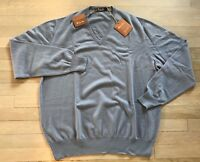 1,200$ Loro Piana Periwinkle Baby Cashmere sweater Size M, EU 50 Made in Italy