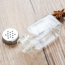 1pc Food Seasoning Cruet Salt & Pepper Pots Spreader Shaker Jar Holder JOBWSWTK