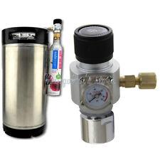 CO2 Regulator Keg Charger Works with Australia Soda Stream Cylinder for Homebrew