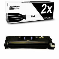 2x Eurotone Toner SCHWARZ für HP Color LaserJet 2550-LN 2820-AIO 2840-AIO 2550-L