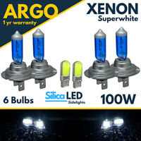 Bmw Headlight 1 Series Bulbs E87 Xenon Led White Sidelight Light 2003-2012 For