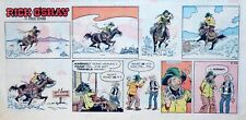 Rick O'Shay by Stan Lynde - color Sunday comic page - March 24, 1968