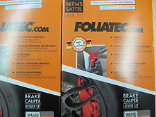Foliatec Brake Caliper Varnish in Metallic Silver with Mounting Set No. 2172