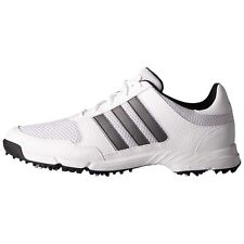 adidas Mens Tech Response Golf Shoes F33552 13 Wide White/Silver