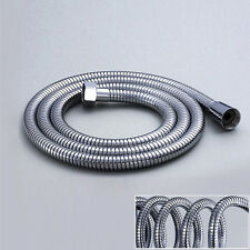 1.5M Stainless Steel Chrome Flexible Bathroom Bath Bathing Shower Head Hose Pipe