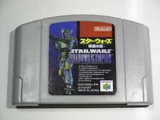 Nintendo 64 USED STAR WARS SHADOWS OF THE EMPIRE.  Japan Import