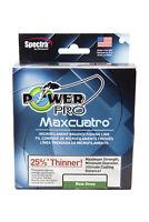 Power Pro Maxcuatro Spectra Moss Green 4-Carrier Braided Fishing Line