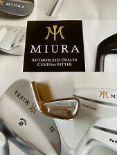 Miura CB501 3 Iron Head only- Brand New- Genuine- Japanese Forged-Taper fit