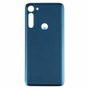 New Back Rear Battery Door Cover Part For Motorola Moto G8 Power BLUE