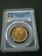 More details for 1823 george iv gold two pound £2 coin double sovereign - pcgs au55