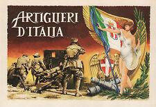 # ARTIGLIERI D'ITALIA- 65° ANNIV. ASSOCIAZ. TORINO -dis.Aldo Brovarone 1991