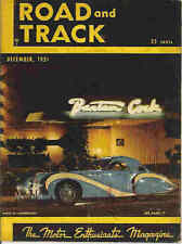Road & Track 1951 Dec aston martin alfa romeo mercedes