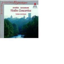 Dvorak / Schumann : Violin Concertos Thomas Zehetmair Eliahu Inbal Neu