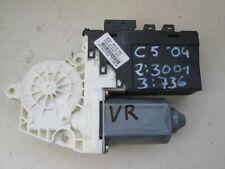 Window regulator motor VR front right Citroen C5 2.2 HDi Built 01-04 9648485280