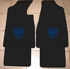 Autoteppich Fußmatten für Lancia Fulvia Coupe schwarz-blau bis Bj. -76' Neu 4tlg