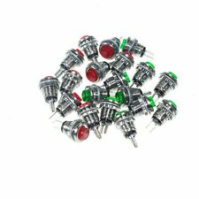 20x Subminiature Button Switch Micro PushButton press Switch DS - 101 Red/Green