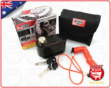 Motorcycle Disc Brake Alarm Lock Security Disk with Curly Cord Safety Anti Theft
