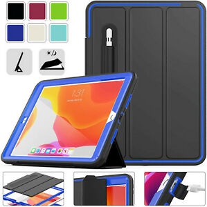 For iPad 10.2'' 2019 7th Generation Shockproof Full Case Cover Screen Protector