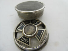 Ek1 SPILLA 1914 IN BARATTOLO kuk german silver Austria 100% ORIGINALE MINT wk1 WWI