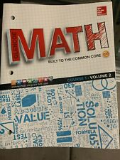 Glencoe McGraw Hill Math Course 1 Volume 2 Student Softcover Text