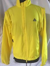 Canari Windbreaker Jacket Vest Cycling Running Yellow Men's Medium BIOVENT