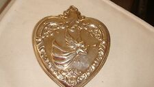 Wallace Sterling Silver 1994 G. B. Heart Christmas Ornament -3rd Ed. 2 available