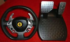 Thrustmaster TX Racing Wheel Ferrari 458 Italia Ed WHEEL & PEDALS ONLY NEW PC XB