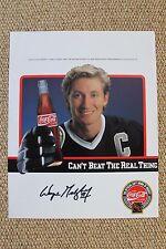 Wayne Gretzky Autograph Signature 8x10 Hockey LA Kings Charity Event Oilers COA