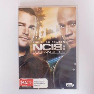 NCIS Los Angeles Season 3 DVD TV Series PAL Region 4 Free Postage - Crime