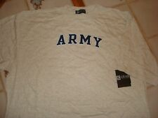 ARMED FORCES US ARMY MILITARY LOGOED COTTON CREW T-SHIRT XL