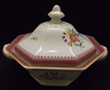 Adams England Lowestoft Covered Vegetable Calyx Ware - Red Mark