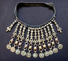 Ancien collier bronze Inde tribal ethnique Old indian necklace