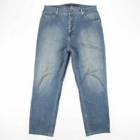 Vintage NAUTICA RELAXED Blue Denim Relaxed Straight Jeans Mens W36 L32