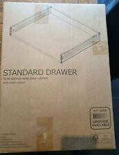 Cooke & Lewis Set of 3 self close drawer 400mm . Boxed unopened.