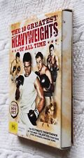 The 10 Greatest Heavyweights Of All Time (DVD, 3-Disc Box Set) R-4, LIKE NEW