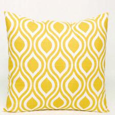 Geometric Cotton Blend Pillow Cases